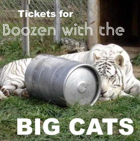 2019 Boozen with the Big Cats Tickets